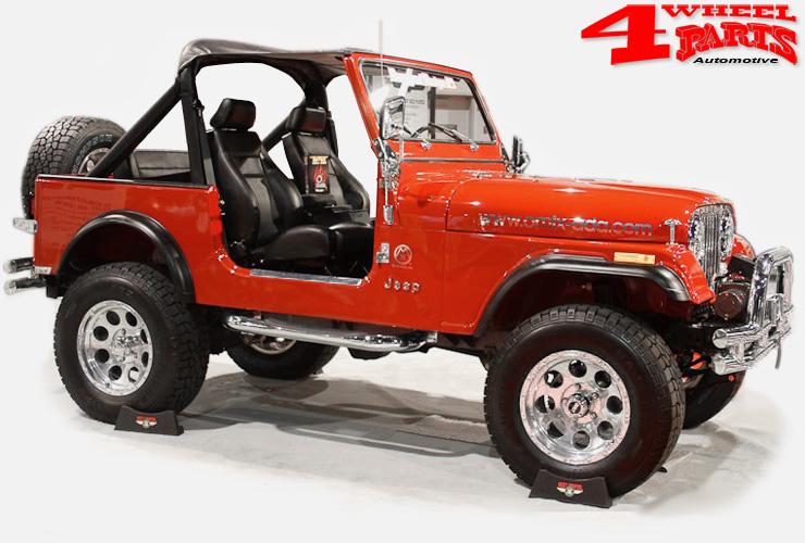 4 wheel parts jeep cj accessoires stainless chrome. Black Bedroom Furniture Sets. Home Design Ideas