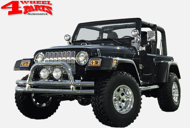 Jeep Wrangler Tj Zubeh 246 R Edelstahl Amp Chrom 4 Wheel Parts