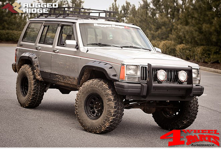 4 wheel parts jeep cherokee xj exterior accessoires. Black Bedroom Furniture Sets. Home Design Ideas