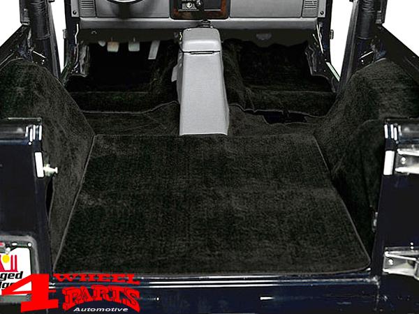 4 Wheel PartsTeppichsatz Teppich Autoteppich komplett 6