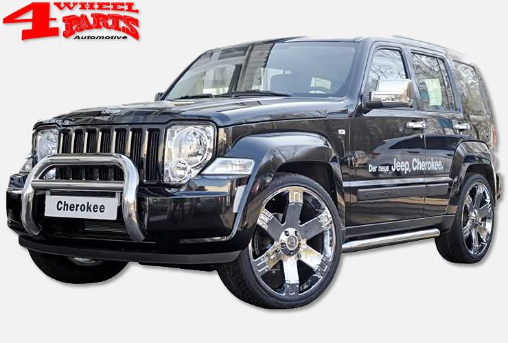 jeep cherokee kk exterior accessoires 4 wheel parts. Black Bedroom Furniture Sets. Home Design Ideas