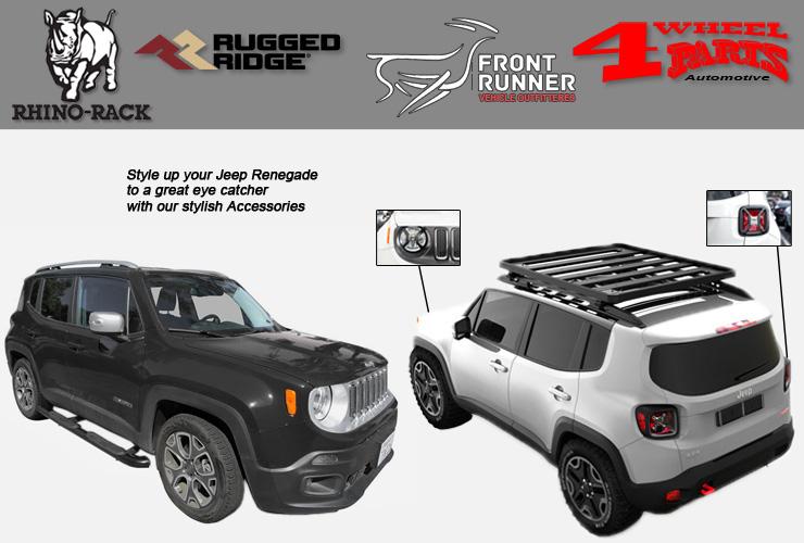 jeep renegade bu exterior accessoires 4 wheel parts. Black Bedroom Furniture Sets. Home Design Ideas