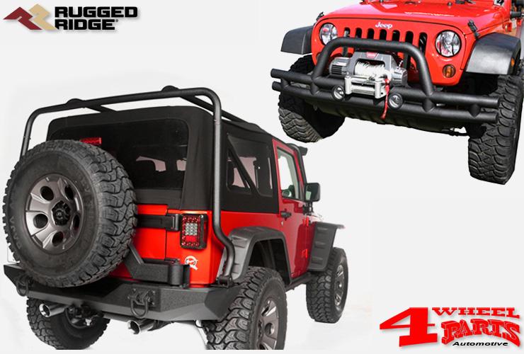 4 wheel parts jeep wrangler jk frontb gel hecksto stangen. Black Bedroom Furniture Sets. Home Design Ideas