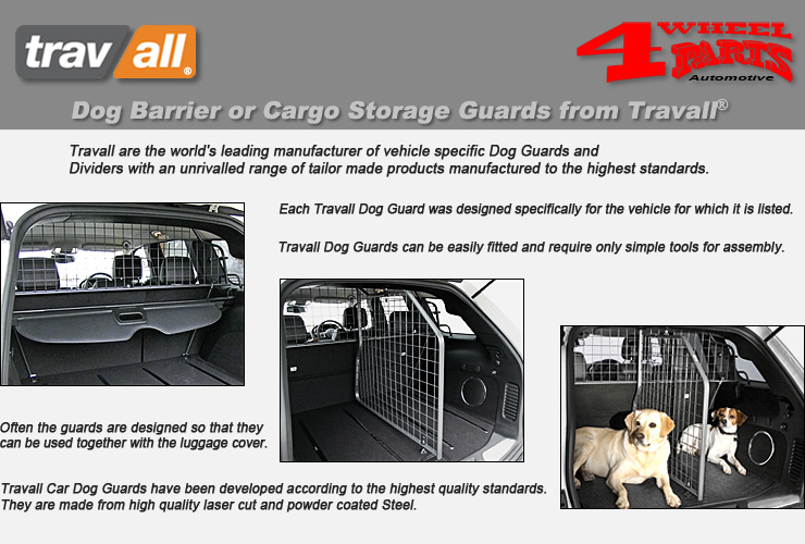 Travall Guard TDG0331 Vehicle-Specific Dog Guard