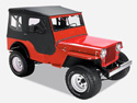 Jeep CJ2A CJ3A CJ3B CJ5 CJ6 M38A1 Willys MB spare parts accessories