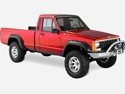 Jeep Vehicle Identification Number year 1987-1990 Comanche MJ