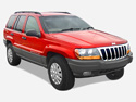 Jeep Grand Cherokee WJ spare parts accessories