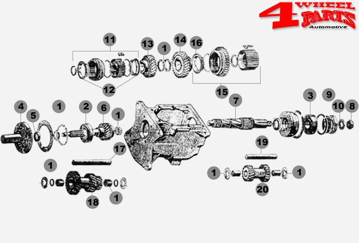 3rd /& 4th Gear Shift Fork for Jeep CJ5 CJ7 76-79 T176 /& T177 4Spd 18884.31 Omix