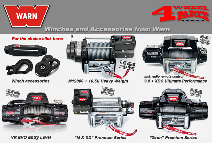 Jeep Wrangler JL Winches from WARN