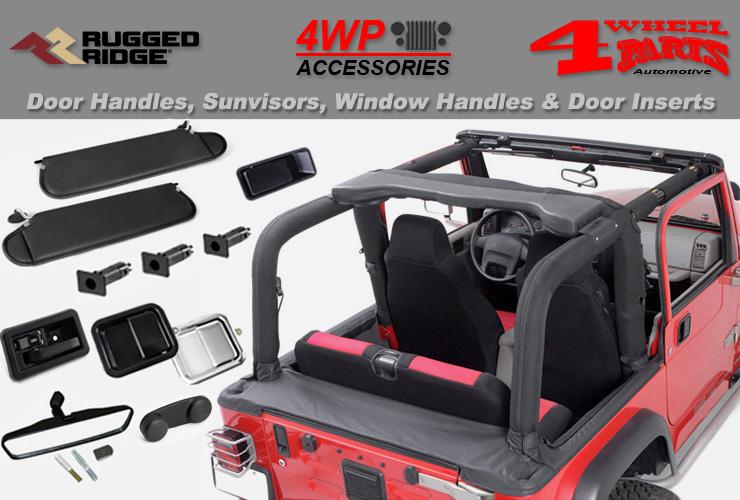 Emergency Brake Handle Cover Billet Aluminum Black for Jeep Wrangler JK 07-10