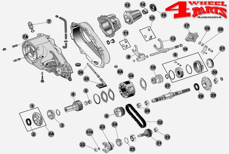 4 wheel parts verteilergetriebe np231 nv241. Black Bedroom Furniture Sets. Home Design Ideas