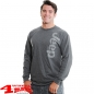 Preview: Ultra Cotton Long Sleeve Tee in Dark Heather from Mopar