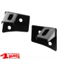 Preview: Windshield Light Brackets Black Satin Wrangler JK year 07-18