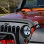 Preview: Hood Catch Set Aluminum Cast Silver Wrangler JK year 07-18
