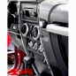 Preview: Chrome Dash Accent Cover 2 pce. Wrangler JK year 07-10