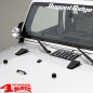 Preview: Hood Tie Down Kit Black Jeep Wrangler JK year 07-12