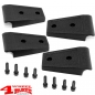 Preview: Door Hinge Cover Kit Textured Black Wrangler JK year 07-18 2-doors