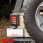 Preview: Tail Light Guards Pair Textured Elite Wrangler JK year 07-18