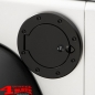Preview: Gas Hatch Cover Locking Stainless Steel Black Wrangler JK year 07-18