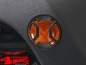 Preview: Side Marker Light Guard Set Textured Elite Wrangler JK year 07-18