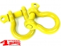 Preview: D-Rings Yellow 6.100 kg Ø 25mm