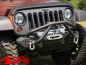 Preview: Wrap Around Bug Shield Matte Black Jeep Wrangler JK year 07-18