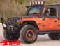 Preview: Wrap Around Bug Shield Acrylic Smoke Wrangler JK year 07-18