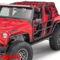 Preview: Element Doors Front textured Wrangler JK year 07-18 2- or 4-doors