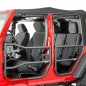 Preview: Element Doors texturiert hinten Wrangler JK Bj. 07-18 4-Türer