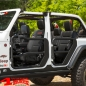 Mobile Preview: Element Doors Front textured with Mirrors Wrangler JL 18-19 2- or 4-doors