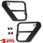 Preview: Fortis Tube Doors Rear Black Wrangler JK year 07-18 4-doors