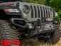 Preview: Front Bumper Venator Steel Black Wrangler JL year 18-19