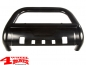 Preview: Front Tube Center Bumper Steel Black Wrangler JL year 18-20
