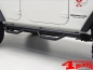 Preview: Side Nerf Bar Kit  Spartan Ø 75mm textured Wrangler JK year 07-18 4-doors