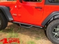 Preview: Side Nerf Bar Kit Spartan Ø 75mm textured Wrangler JL year 18-19 2-doors