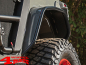 Preview: Flat Fender Flare Steel Tube Style Rear Jeep Wrangler JL year 18-20