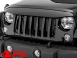 "Preview: Kühlergrill Blende ""NightHawk"" unlackiert Wrangler JK Bj. 07-18"