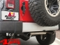 Preview: Bumper Applique Rear Sahara Model Optik Wrangler JK year 07-18