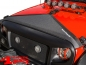 Mobile Preview: Hood Bra Cover Black Jeep Wrangler JK year 07-18