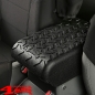 Preview: Arm Rest Pad Cover Polyurethane Black Wrangler JK year 07-10