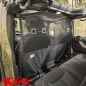 Preview: Cargo Curtain behind the Front Seats Wrangler JK year 07-18 4 + 2-doors