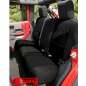 Preview: Seat Cover Neoprene Rear Black Wrangler JK year 07-18 4-doors