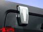 Preview: Hardtop Tailgate Hinge Covers Chrome 2 pce. Wrangler JK year 07-18