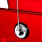 Preview: Chromed Antenna Base Cover Jeep Wrangler JK year 07-18