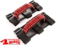 Preview: Grab Handles Pair Red Sport Bar Paracord Jeep year 76-20