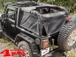 Preview: Cargo Eclipse Barrier Net on Roll Bar Wrangler JK year 07-18 2-doors