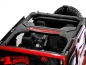 Preview: Roll Bar Cover Black Polyester Jeep Wrangler JK year 07-18 4-doors