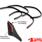 Preview: Fender Flares 4 Piece Universal 2cm wide universal flexible street legal