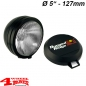 "Preview: Additional Floodlight HID Offroad Light Black Steel 5""Ø 35W 1-pce."