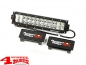 "Preview: LED Work Light Bar 13,5"" Cover in Black Pair"